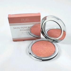 PÜR Skin-Perfecting Powder Matte Peach Blu…